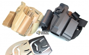 【翔準軍品AOG】M9 硬殼腿掛 手槍套  硬殼 槍套 周邊零配件 生存遊戲 P1102-1