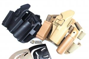 【翔準軍品AOG】Glock硬殼腿掛 手槍套  硬殼 槍套 周邊零配件 生存遊戲 P1101-2