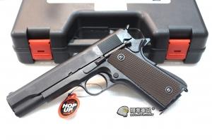 【翔準軍品AOG】 Bell 全金屬 1911 瓦斯手槍 附槍盒 三個月保修 D-24BEL-723