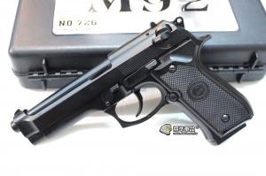 【翔準軍品AOG】 Bell 全金屬 M9 瓦斯手槍 附槍盒 三個月保修 D-24BEL-726