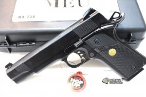 【翔準軍品AOG】 Bell 全金屬 MEU/M1911 瓦斯手槍 附槍盒 三個月保修 D-24BEL-728