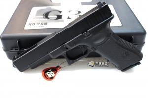 【翔準軍品AOG】 Bell G34 瓦斯手槍 GLOCK 附槍盒 三個月保修 D-24BEL-765