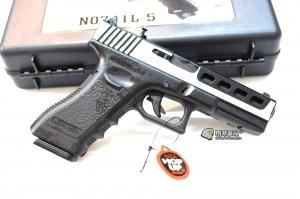 【翔準軍品AOG】 Bell ZEV G17 CNC 可裝瞄具 瓦斯手槍 附槍盒 三個月保修 D-2B-741L-5