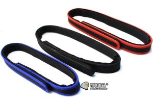 【翔準軍品AOG】 IPSC 高級腰帶(藍/紅/黑) 競技手槍 腰帶 短槍 高階比賽 打靶 P8009--5
