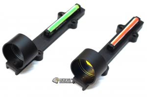 【翔準軍品AOG】 (紅光/綠光)真光杵L型內紅點免電源免開 快瞄 光學瞄具 AK M4 G36 周邊配件 B0201AD