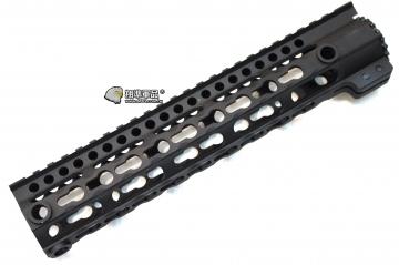 【翔準軍品AOG】 10吋金屬(用M4系列) Keymod 鑰匙孔 魚骨 寬軌 戰術 全金屬 魚骨 護木 26cm C0705AA