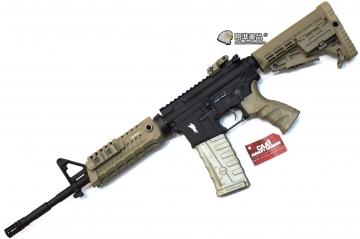 【翔準軍品AOG】 CAA M4S1 10.5吋沙電槍 CAA正廠真槍廠授權刻字 半金屬 電動槍 生存遊戲 CAD-AG-07-DE