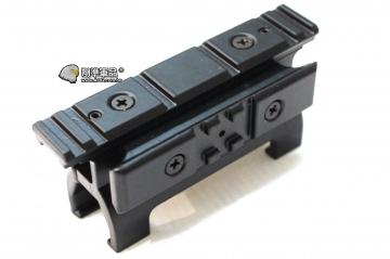 【翔準軍品AOG】 MP5-專用兩面鏡橋金屬 狙擊鏡 快瞄 魚骨 紅外線夾具 鏡橋 B05064