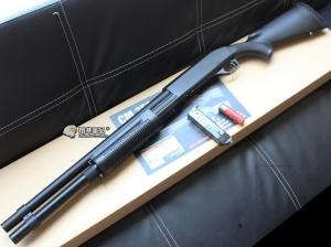 【翔準軍品AOG】 CYMA M870 長 FOLDING 散彈槍 付彈殼 手拉空氣槍 拉一打三 超值散彈槍 DA-CM352L