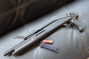 【翔準軍品AOG】CYMA  M870 FOLDING STOCK 散彈槍 付彈殼 手拉空氣槍 拉一打三 超值散彈槍 DA-CM352