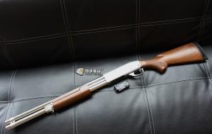 【翔準國際AOG】S&T 手拉空氣槍 M870 middle 散彈槍 BB槍 全金屬 實木 DA-SPG-06S