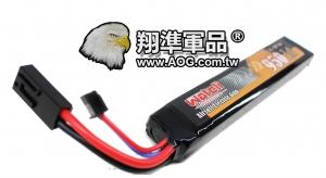 【翔準軍品AOG】台灣製 可充電 離鋰子 電池 7.4V 鋰電池 電動槍 電池袋 電池盒 充電器 回收 1A-D-D