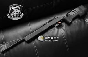 【翔準軍品AOG】【S&T】M40A3 黑 手拉 狙擊槍 長槍 生存遊戲 填彈器 彈簧 槍管 空氣槍 DA-ST-SPG11