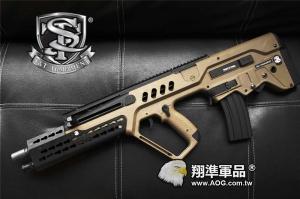 【翔準軍品AOG】【S&T】T21 TAVOR 平面魚骨版 魚骨 以色列 突擊步槍 犢牛式 特種部隊 DA-AEG-78-DE