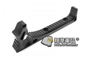 【翔準軍品AOG】SI LINK Curved ForeGrip 輕量化 戰術手阻 KeyMod 金屬握把 ㄇ形 C0226GA