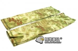 【翔準國際AOG】袖套 綠蟒 手臂 手軸 人身部品 保護 迷彩  G3105BB