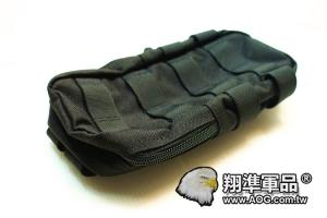 【翔準軍品AOG】 翔野   大型垂直雜物包 黑色 雜物包生存軍事彈匣袋 FPH-C024-1