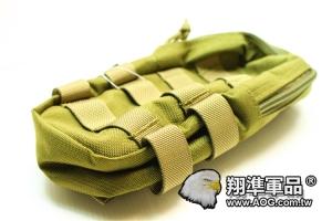 【翔準軍品AOG】 翔野 大型垂直雜物包 泥色 雜物包生存軍事彈匣袋 FPH-C024-5