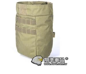 【翔準軍品AOG】 FLYYE_桶型彈匣回收袋 泥色 迷彩包雜物包戰術背心生存 FPH-M028C