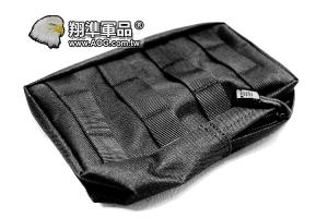【翔準軍品AOG】背心雜物包 BK 黑 戰術背心 雜物袋 美軍 戰術 X2-5-1