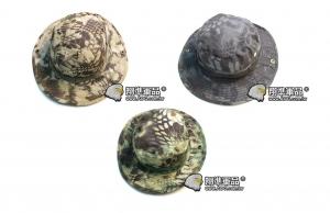 【翔準軍品AOG】特種部隊 蟒紋圓盤帽 釣魚 防曬 型男 帽子 登山 露營 戶外活動 生存遊戲