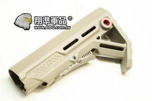 【翔準軍品AOG】V型後托 泥色槍托 AR15 M4 M416 HK416 M 16 HO0370 C1018DA
