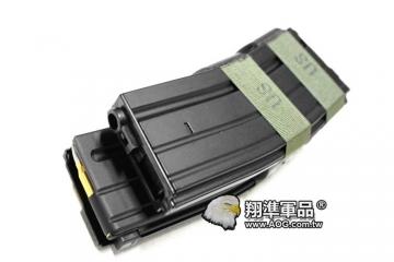 【翔準軍品AOG】【M4 黑色電動槍彈鼓】裝飾彈 電動槍 自動上彈 (KWA WE LCT G&G )D-10-20