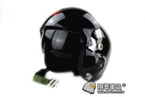 【翔準軍品AOG】 飛行盔+防BB彈護目鏡 黑色 護目鏡 鏡片 茶色 透明 防塵袋 玻璃鋼 摩托車 戰鬥機
