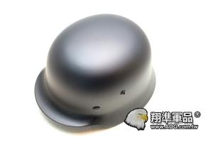 【翔準軍品AOG】【M35德軍傘兵鋼盔黑色】 高級頭盔-金屬盔 頭盔-戰鬥盔