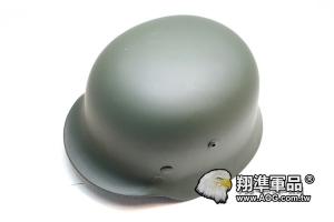 【翔準軍品AOG】【M35德軍傘兵鋼盔綠色】 高級頭盔-金屬盔 頭盔-戰鬥盔