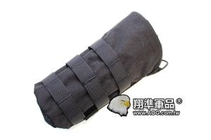【翔準軍品AOG】  翔野 水瓶包 黑色  水壺袋水瓶袋生存裝備 FPH-C001-1