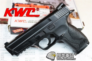【翔準國際AOG】【KWC】 MP40 CO2 黑色 CO2 鋼瓶 手槍 無後座力 滑套固定 拆卸 生存遊戲 D-03-26