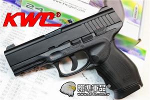 【翔準國際AOG】【KWC】  24/7 CO2 黑色 CO2 鋼瓶 手槍 無後座力 滑套固定 拆卸 生存遊戲 D-03-27A