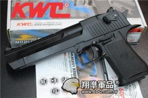 【翔準國際AOG】【KWC】 沙漠之鷹 空氣 手拉 手拉 手槍  生存遊戲 D-03-13-4