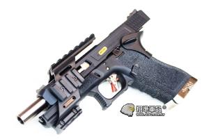 【翔準軍品AOG】手槍下魚骨 GLOCK M9 5.1 塑膠製 IPSC JOHN WICK 捍衛任務 紅點