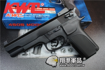 【翔準國際AOG】【KWC】4505 KA-14  空氣 手拉 手槍 生存遊戲 D-03-04