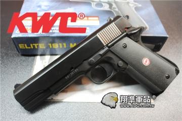 【翔準國際AOG】【KWC】ELITE 1911  KA-112 空氣 手拉 手槍 生存遊戲 D-03-02-1KWC 1911  手拉 手槍