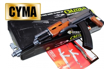 【翔準軍品AOG】*無法超取* CYMA AK47S AK 電動槍 俄軍 俄羅斯 生存金屬 DA-CM028S