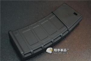 【翔準軍品AOG】震龍 LONEX M4 塑膠快拉式彈匣 AEG 電動槍 彈匣 cgb-06-07  黑