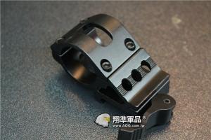 【翔準軍品AOG】快拆 側邊燈夾 25MM M4 M16 HK416 步槍 突擊步槍  B05025A