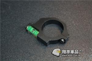 【翔準軍品AOG】25MM 水平儀  夾具環 狙擊槍 L96 M700 M82 B05023AL