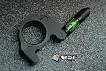 【翔準軍品AOG】 30/25mm 水平儀 金屬殼 螢光水 校正 多方面 B05023AG
