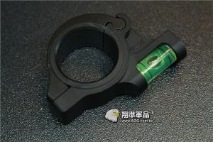 【翔準軍品AOG】 固定式 30/25mm 水平儀 金屬殼 螢光水 校正 多方面 B05023AH