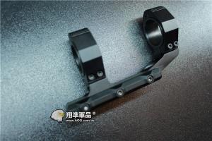 【翔準軍品AOG】 固定式 30/25mm 水平儀 魚骨 夾具 金屬殼 螢光水 校正 多方面 B05023AA 短
