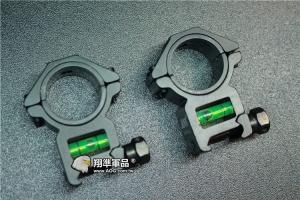 【翔準軍品AOG】 通用型 30/25mm 水平儀 魚骨 夾具 金屬殼 螢光水 校正 多方面 B05023AE