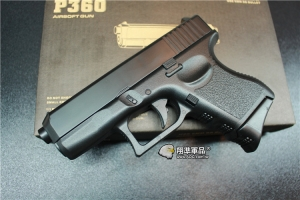 【翔準軍品AOG】WL 手槍 特勤 隱密(已售完)  黑 P360 空氣 G27 DW-04-ADA