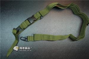 【翔準軍品AOG】三 點槍背帶 高質感 背帶 耐用 槍背帶 槍繩 背帶繩 鬆緊 金屬扣 C0906