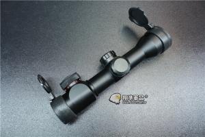 【翔準軍品AOG】短版 狙擊鏡 4x32 紅光 綠光 瓦斯槍 電動槍 瞄準器 全金屬 可歸零B01035