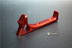 【翔準軍品AOG】 KEYMOD ㄇ形 魚骨 金屬 握把 紅色 快拆 特戰 特色 C0226GAAB