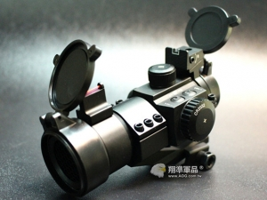 【翔準軍品AOG】M3 紅綠光 光杵式照門 內紅點快瞄 快速 特種部隊 電子按鈕式 美 B02030AG